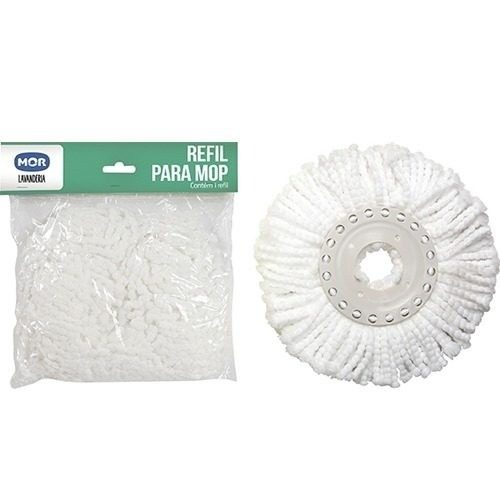 Refil Avulso Para Esfregão Vassoura Mop Limpeza Pratica Mor - Loja Portal