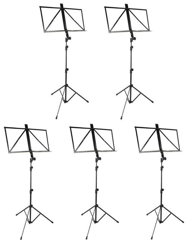 Conjunto com 05 Estantes Retráteis para Partituras - Vector  - Loja Portal