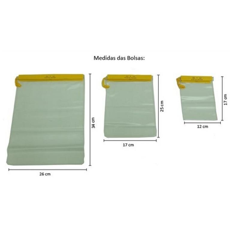 Conjunto de Bolsas Impermeáveis - Nautika - Loja Portal