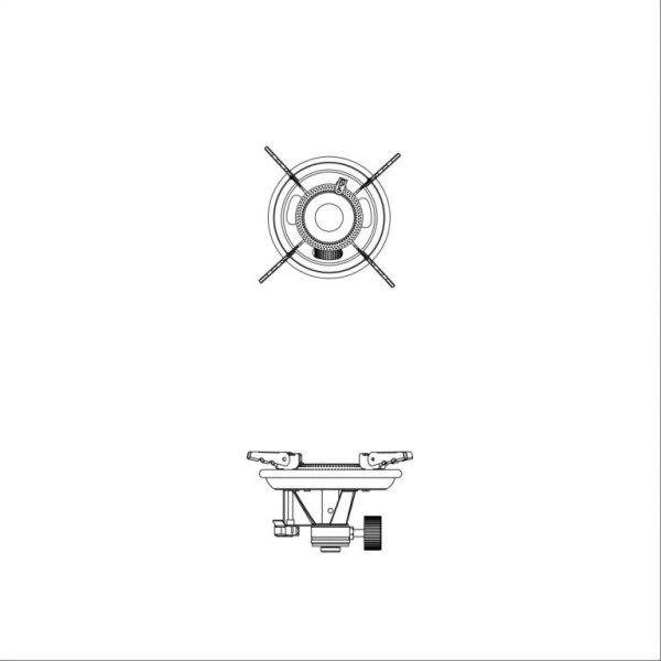 Fogareiro de Aço Inoxidável Apolo - Nautika  - Loja Portal