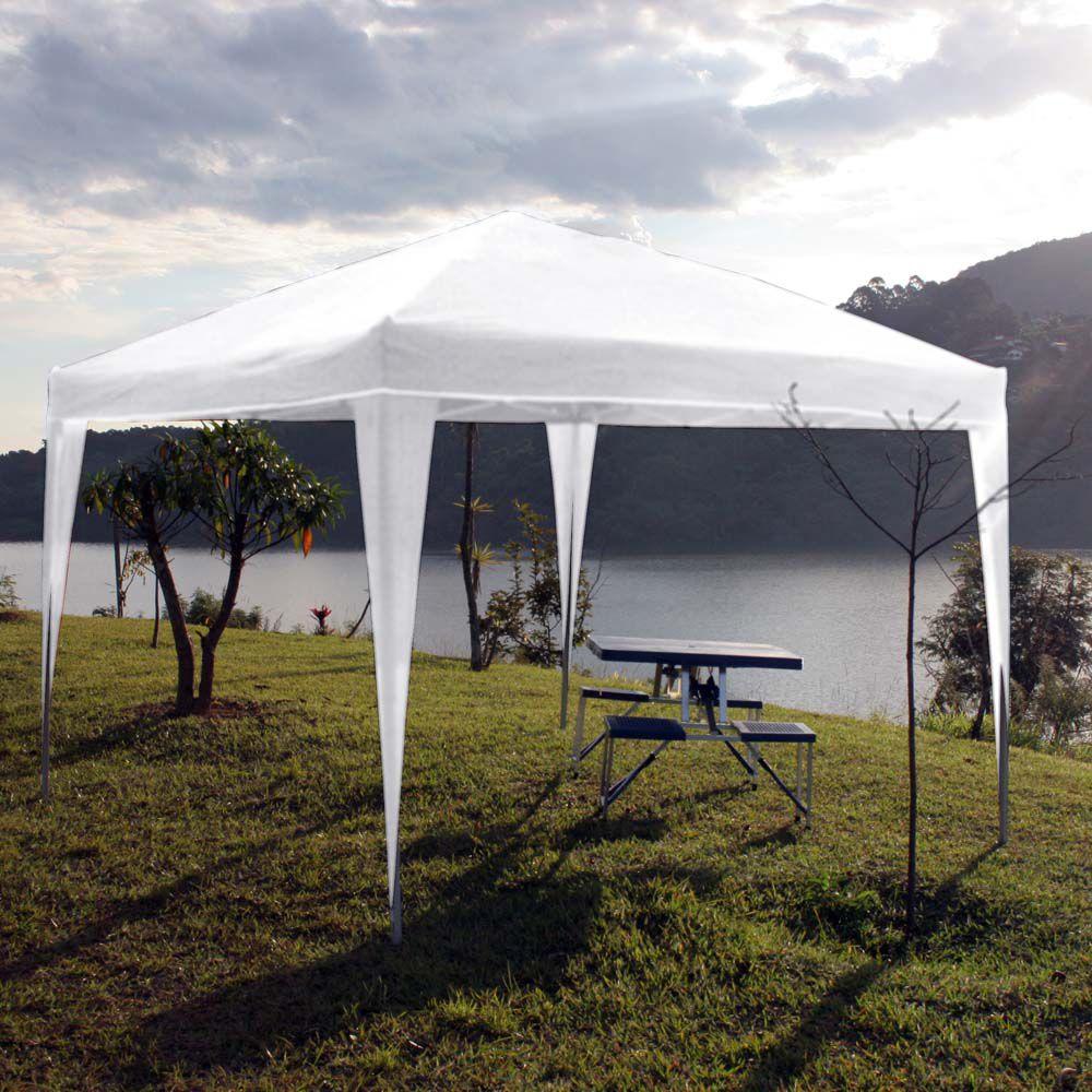Tenda Gazebo Articulada 3mx3m Branca Trixx - Nautika - Loja Portal