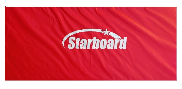 Colchonete para Ginástica Starboard Vermelho - Loja Portal