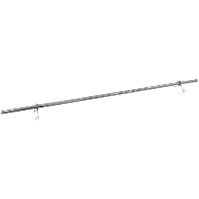 Barra Maciça com Presilhas 200cm - Polimet - Loja Portal