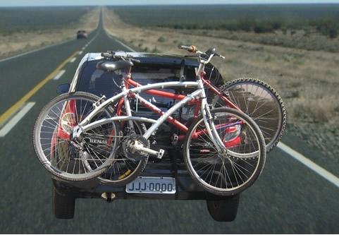 Carbike Luxo Plus para 02 Bicicletas - Loja Portal