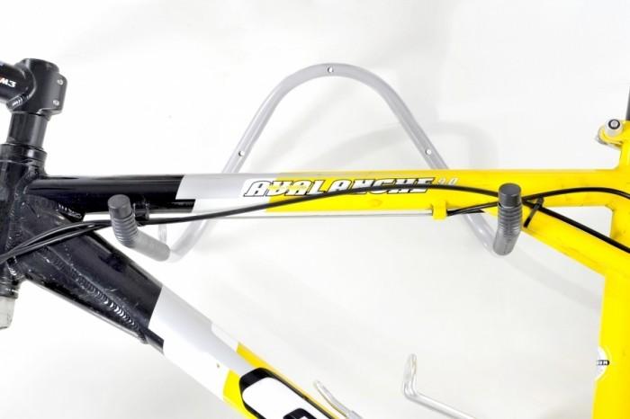 Kit com 03 Suportes de Parede Horizontais para 01 Bicicleta - Altmayer - Loja Portal