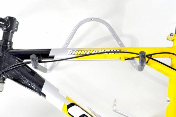 Kit com 02 Suportes de Parede Horizontais para 01 Bicicleta - Altmayer - Loja Portal