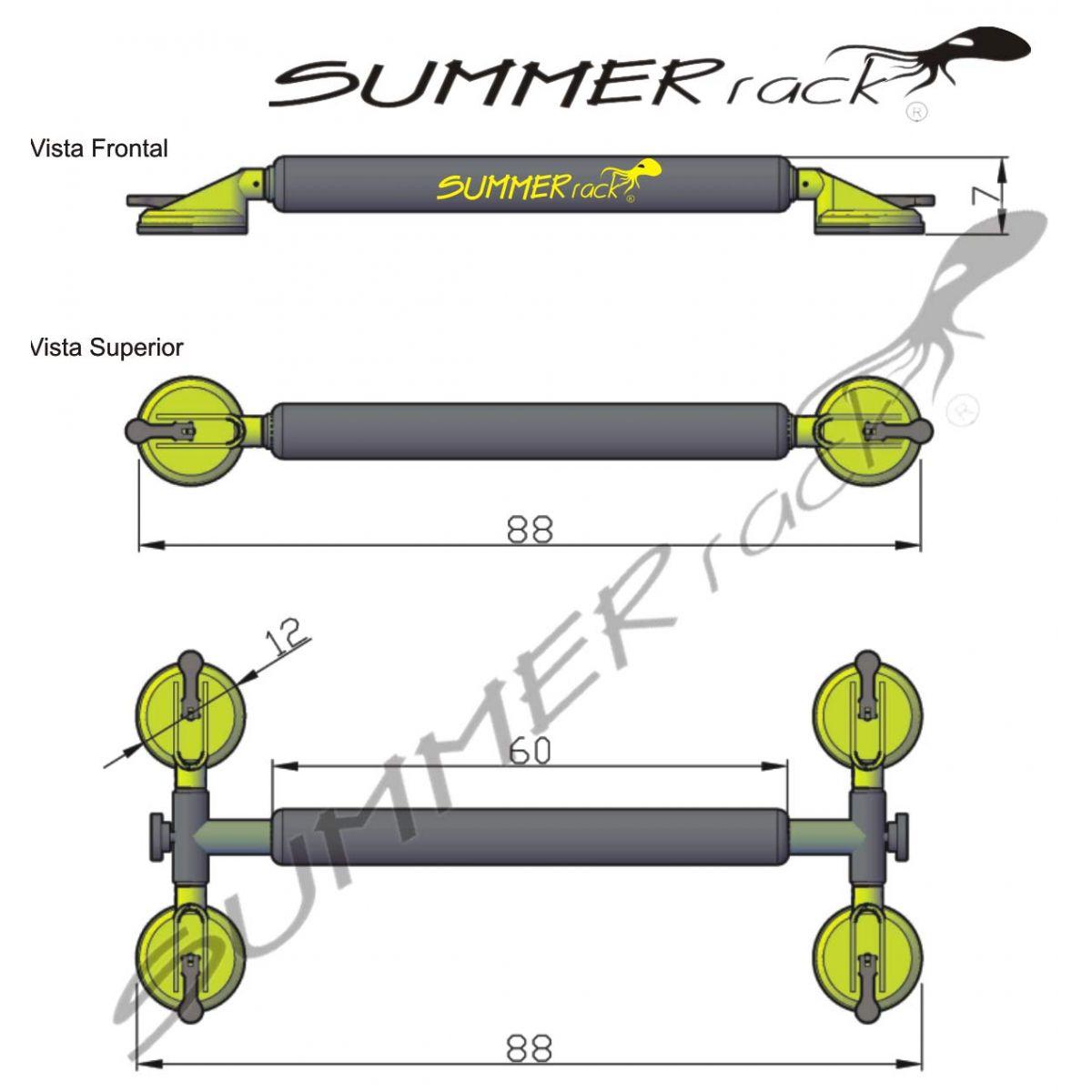 Summer Rack Universal PRO E-V6 - Loja Portal