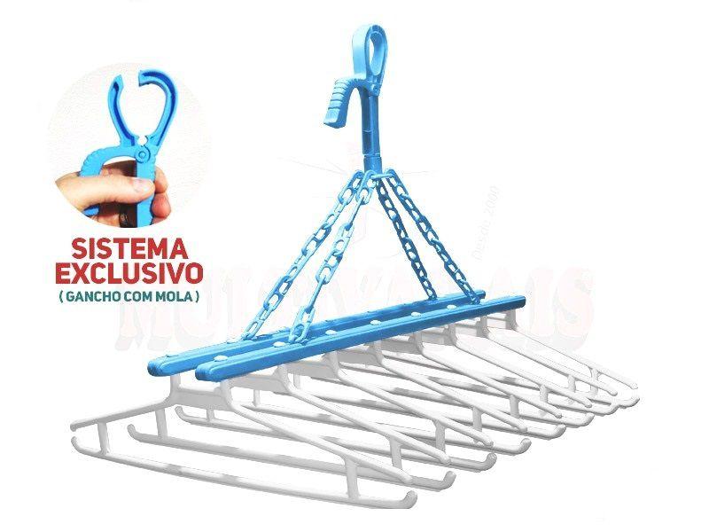 Varal Kitplas Cabideiro Multiuso  - Loja Portal