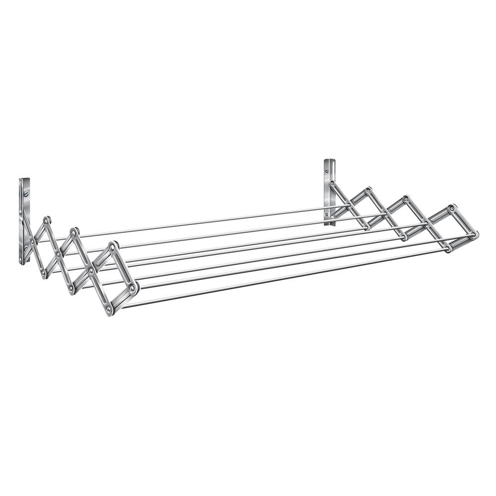 Varal Sanfonado Master Aço 60cm Prata - Secalux - Loja Portal