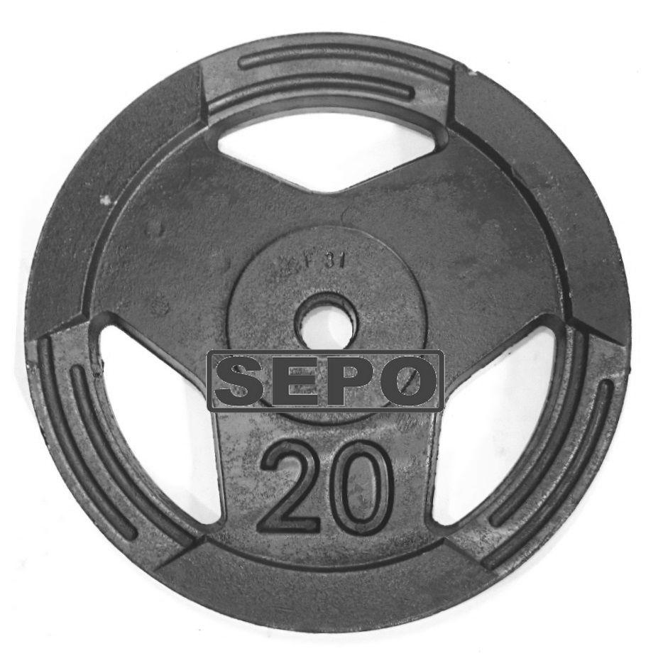 Kit de Anilhas Sport Luxo - 180 Kg  - Loja Portal