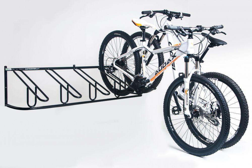Bicicletário Leve De Parede 05 Bicicletas - Altmayer  - Loja Portal