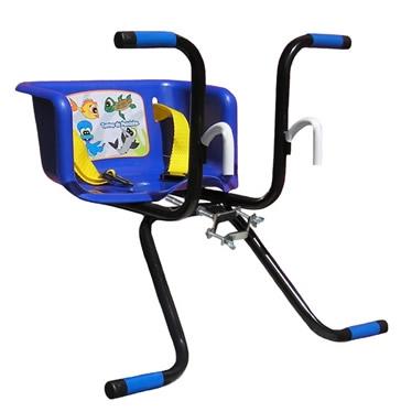 Cadeirinha Infantil para Bicicleta Stilo Básica Azul - Loja Portal