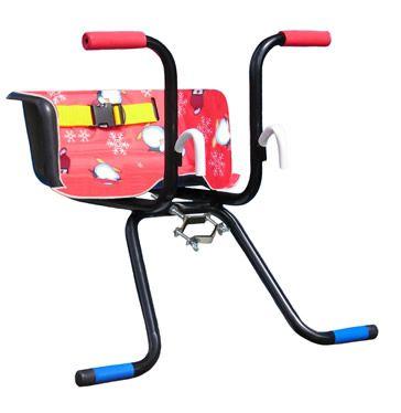 Cadeirinha Infantil para Bicicleta Stilo Luxo Vermelha  - Loja Portal