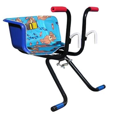 Cadeirinha Infantil para Bicicleta Stilo Luxo Azul - Loja Portal