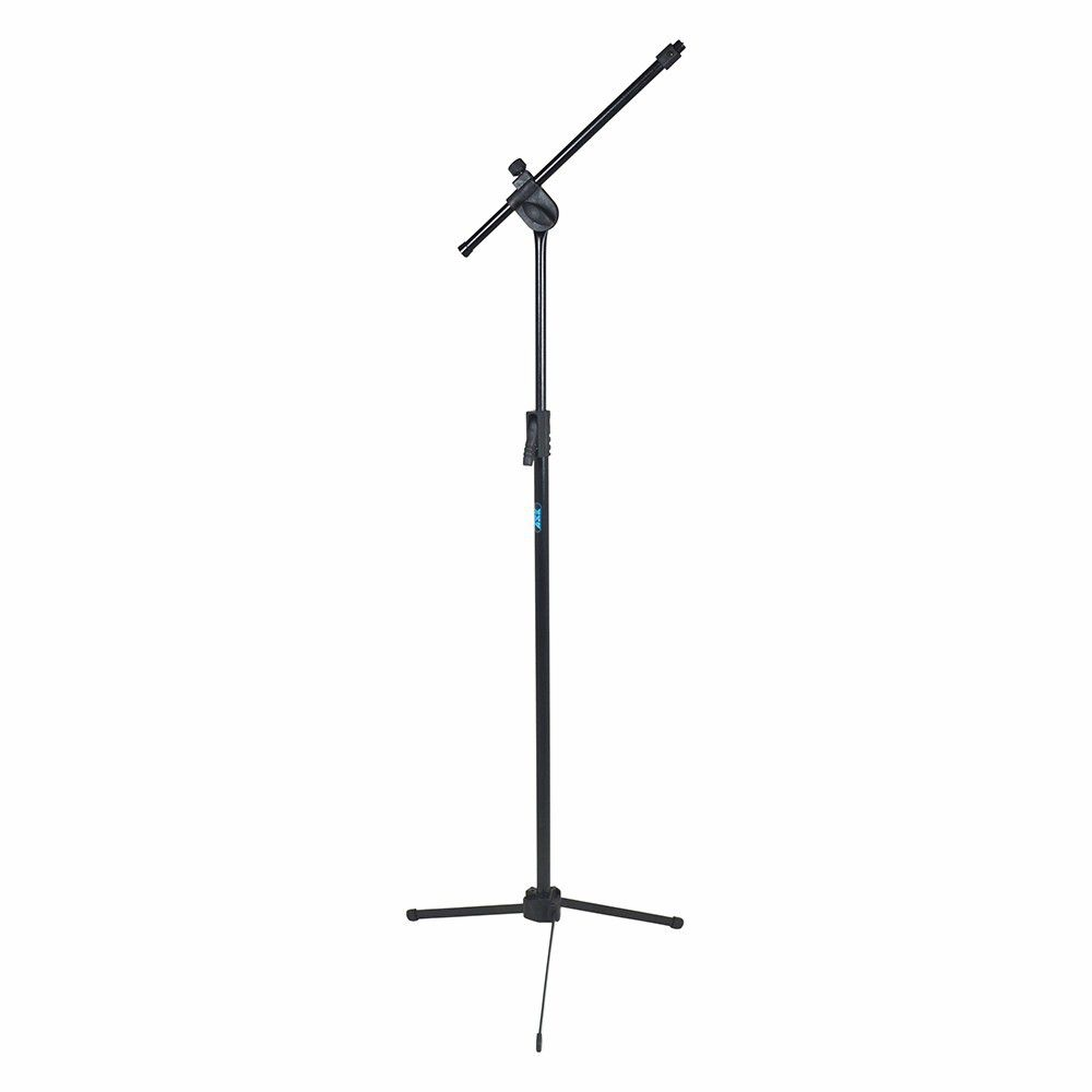 Pedestal Suporte Microfone Profissional Ask Tps + Cachimbo   - Loja Portal