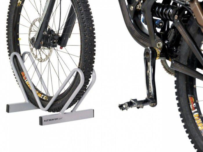 Bicicletário De Chão Tipo ´V´ Cinza - Altmayer  - Loja Portal