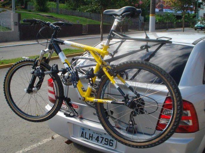 Suporte Veicular TransBike Luxo para 03 Bikes Altmayer AL-102  - Loja Portal