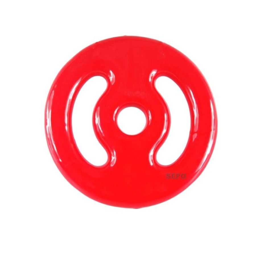 Anilha Emborrachada - Vermelha - 1 Kg