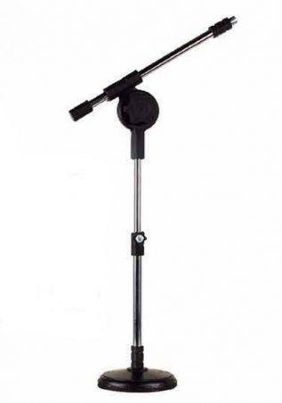 Suporte Microfone Mesa Modelo Girafinha + Cachimbo - Visão - Loja Portal
