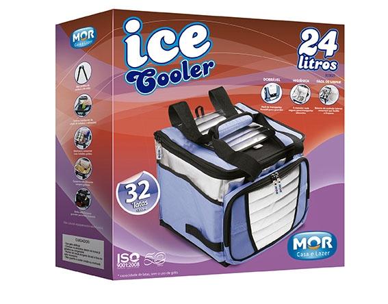 Bolsa Térmica/Cooler 24 Litros Com 01 Divisória - Mor - Loja Portal