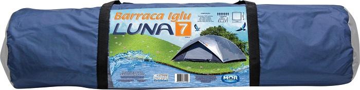 Barraca Luna 7 Pessoas - Mor - Loja Portal