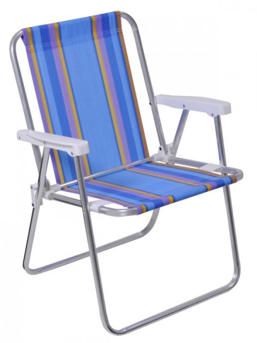 Cadeira Alumínio Alta - Mor - Loja Portal