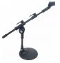 Pedestal Para Microfone De Bumbo Mesa Mini Girafa + Cachimbo - Loja Portal