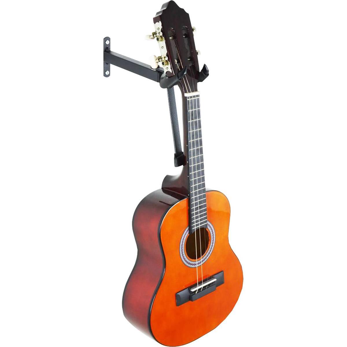 Suporte de Parede para Violão, Guitarra e Baixo com Apoio e Articulação - Ask - Loja Portal