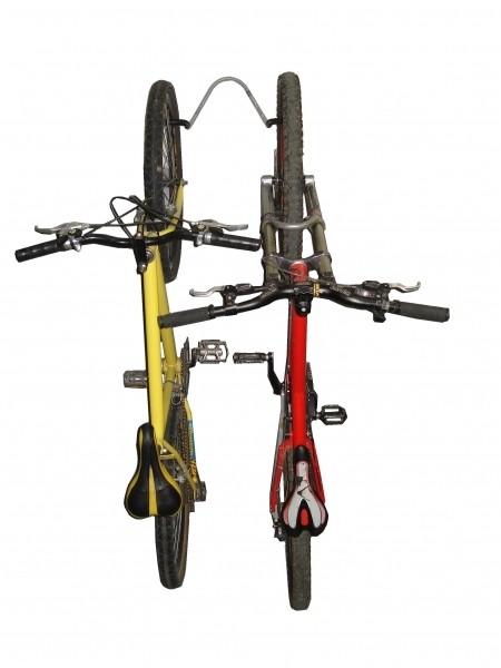 Suporte 02 Bicicletas De Parede Vertical - Altmayer - Loja Portal