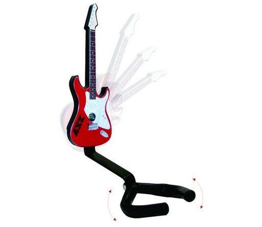 Suporte Para Violão, Guitarra De Parede Com Desenho De Guitarra- Ask  - Loja Portal
