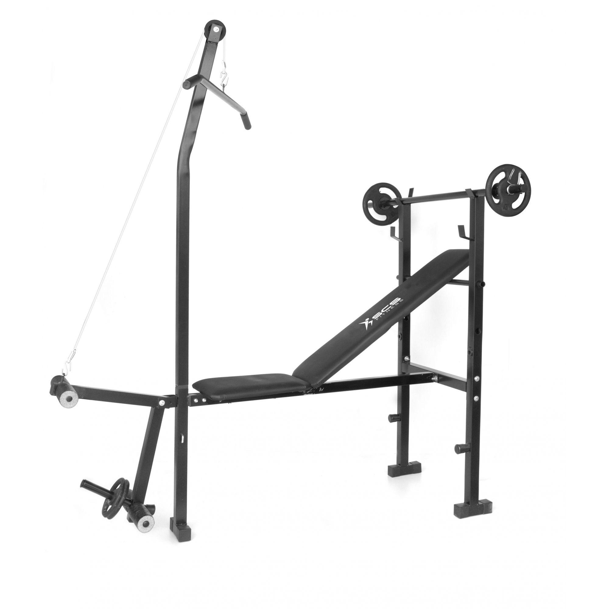 Estação de Musculação Star Gym S400 - Sem anilhas - Loja Portal