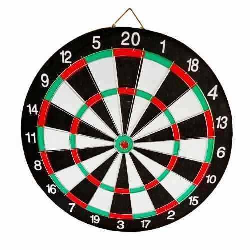 Jogo de Dardos Profissional 40cm com Alvo + 6 Dardos  - Loja Portal