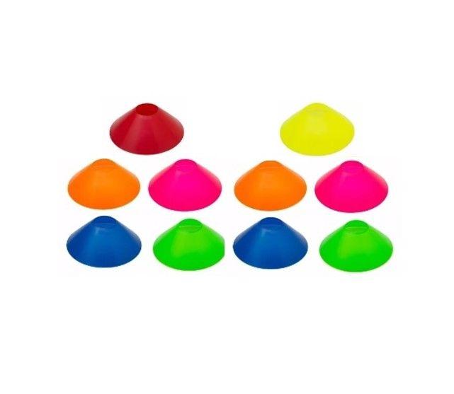 Kit Com 10 Unidades Mini Cones Agilidade - Loja Portal