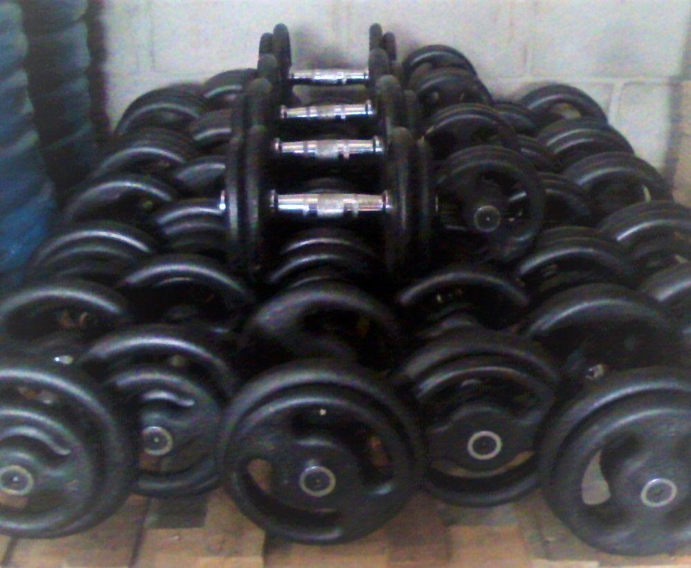 Kit Dumbell Ferro Barras cromadas Pares de 12 AO 30kg Profissional - Loja Portal