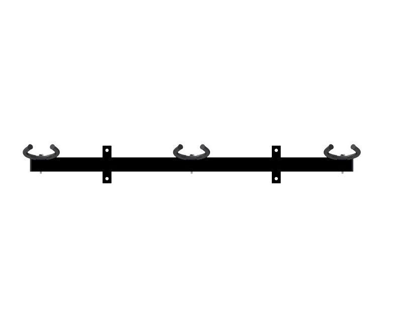 Suporte Parede Para 03 Instrumentos Para Violão, Guitarra E Baixo  - Sepo  - Loja Portal