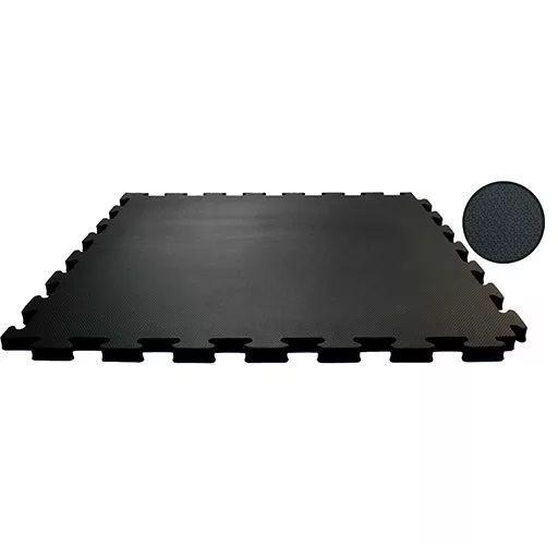 Tatame Tapete Fitness  Eva Emborrachado 50x50cm - 10mm - 4 peças + Bordas de Brinde - Loja Portal