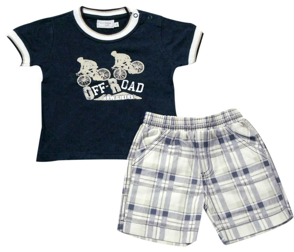 Conjunto Camisa/Shorts  - Loja Noruega