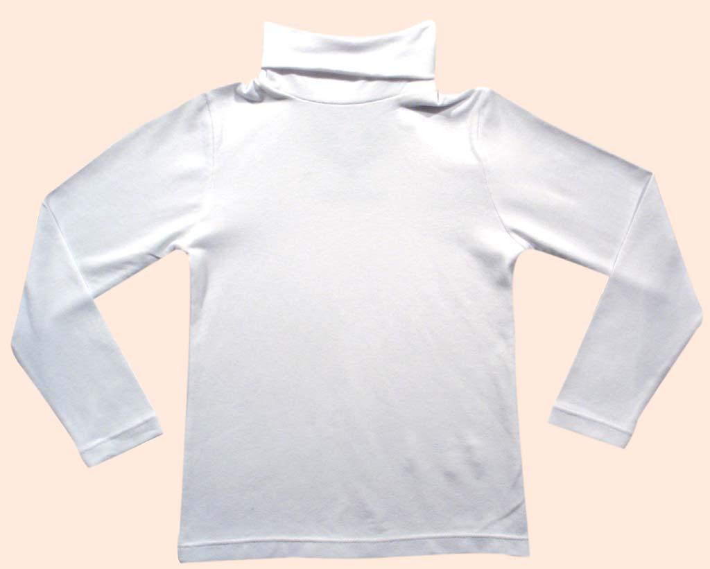Blusa básica gola rolê