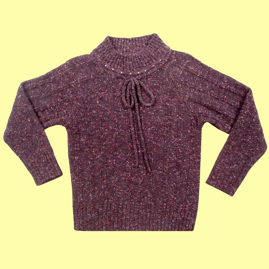 Sweater Gola Alta com Cordão  - Loja Noruega