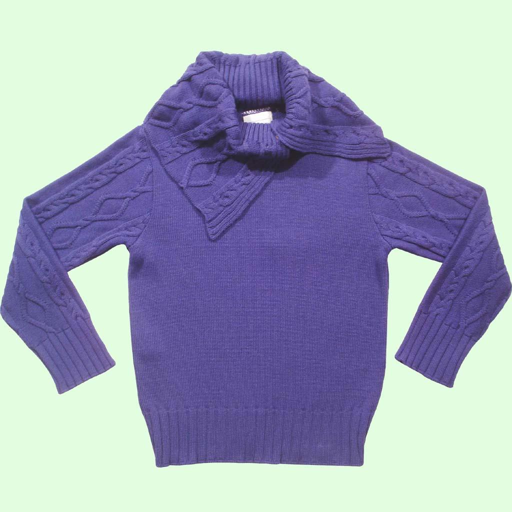Sweater Gola Trançada  - Loja Noruega