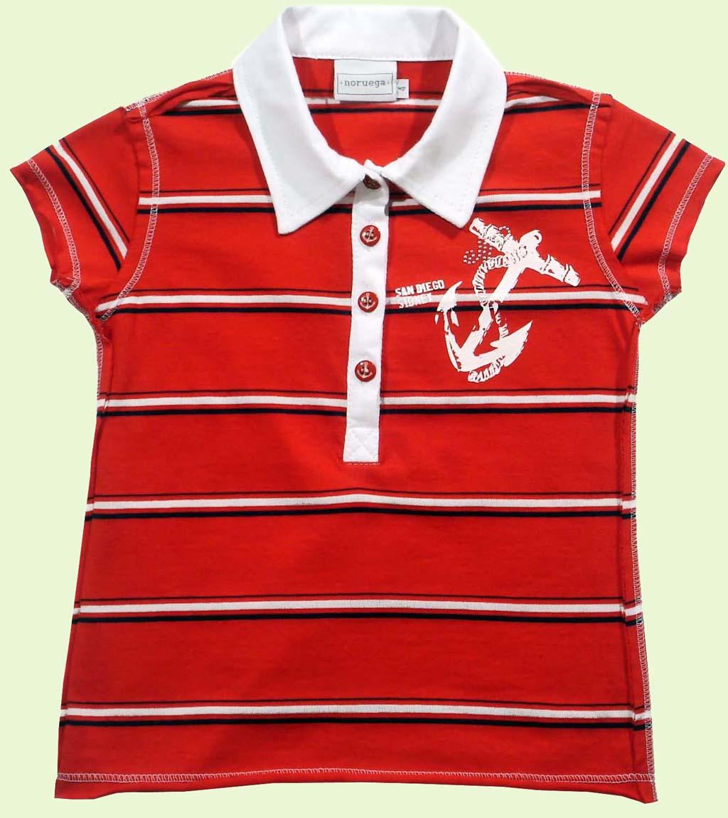Camisa Polo com Ancora  - Loja Noruega