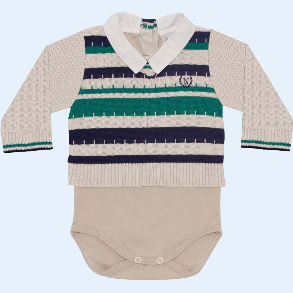 Body Sweater com Listras  - Loja Noruega