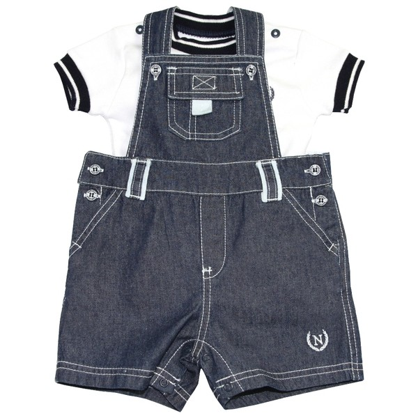 Conjunto Jardineira Jeans  - Loja Noruega