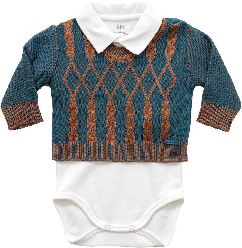 10.575 - Body com Sweater em Vanise