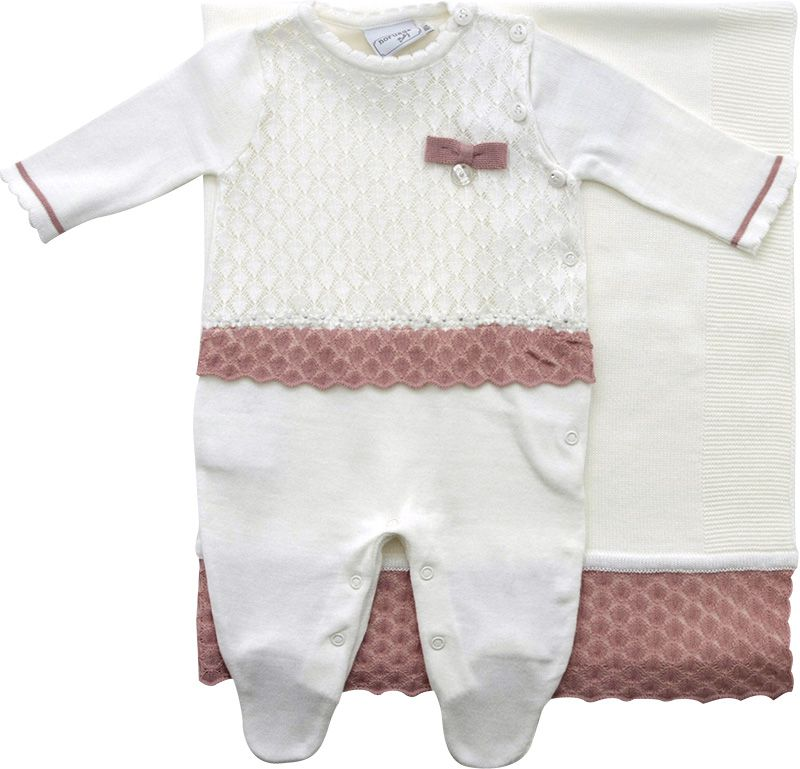 11.513 - Kit Maternidade Ponto Rendado