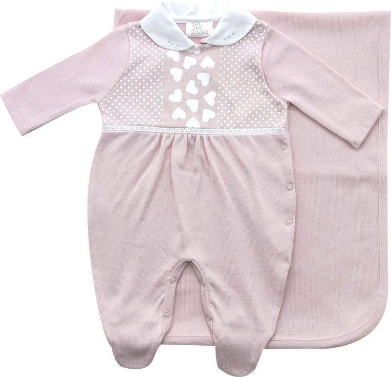 11.528 - Saída Maternidade Silk Corações