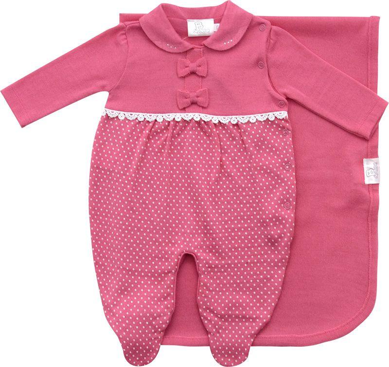 11.530 - Saída Maternidade Silk Poá