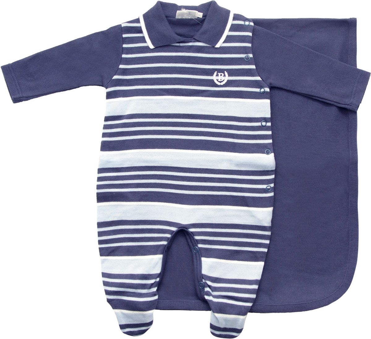 11.536 - Kit Maternidade com Listras Irregulares