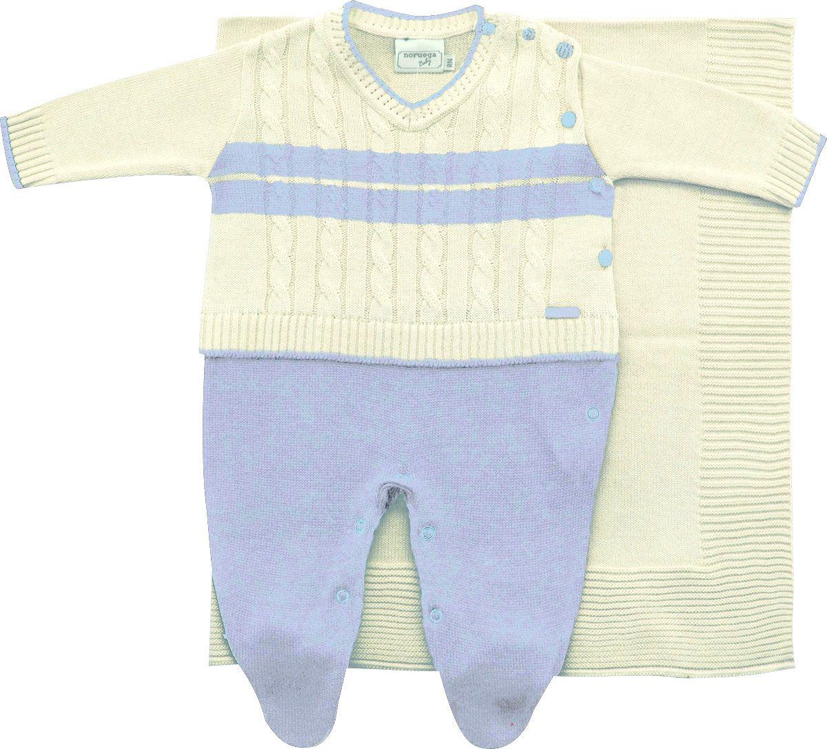 11.565 - Saída Maternidade com Sweater Falso