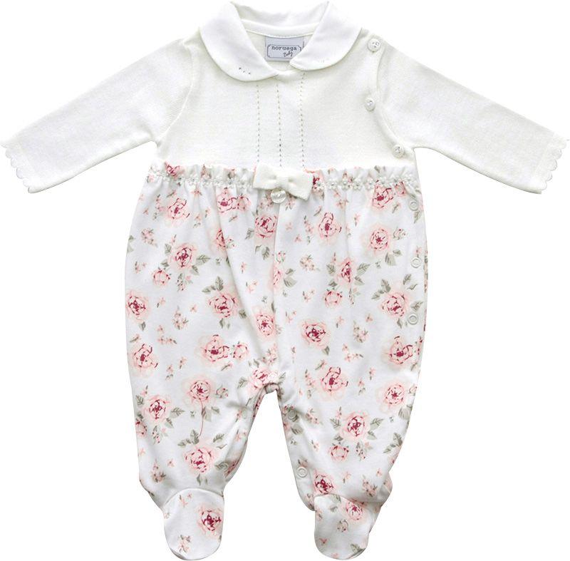 12.0133 - Macacão Cotton Estampa Floral